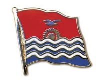 Kiribati Flaggenpin ca. 20 mm