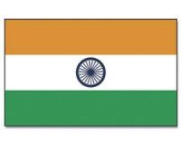 Indien Stockflagge 30*45 cm