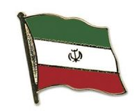 Iran  Flaggenpin ca. 20 mm