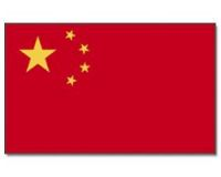 China Stockflagge 30*45 cm