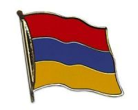 Armenien  Flaggenpin ca. 20 mm