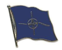 NATO  Flaggenpin ca. 20 mm