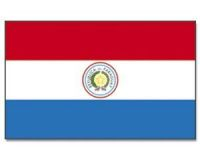 Paraguay Stockflagge 30*45 cm