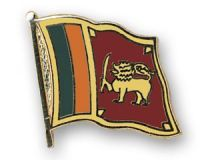 Sri Lanka  Flaggenpin ca. 20 mm