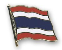 Thailand  Flaggenpin ca. 20 mm