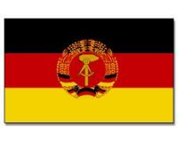DDR Stockflagge 30*45 cm