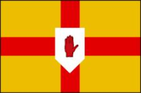 Ulster Flagge 90*150 cm