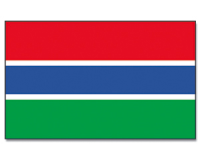 Outdoor-Hissflagge Gambia 90*150 cm