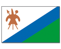 Outdoor-Hissflagge Lesotho 90*150 cm