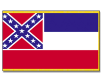 Outdoor-Hissflagge Mississippi 90*150 cm