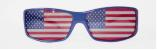 USA Fan - Sonnenbrille