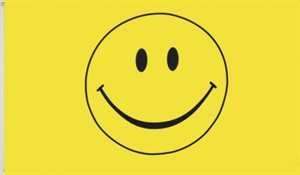 Smiley  Flagge 60*90cm