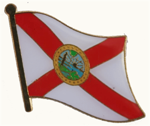Florida Flaggenpin