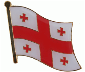 Georgien Flaggenpin