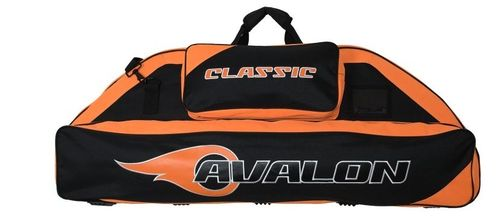 Avalon Compoundtasche 116cm Schwarz/Orange